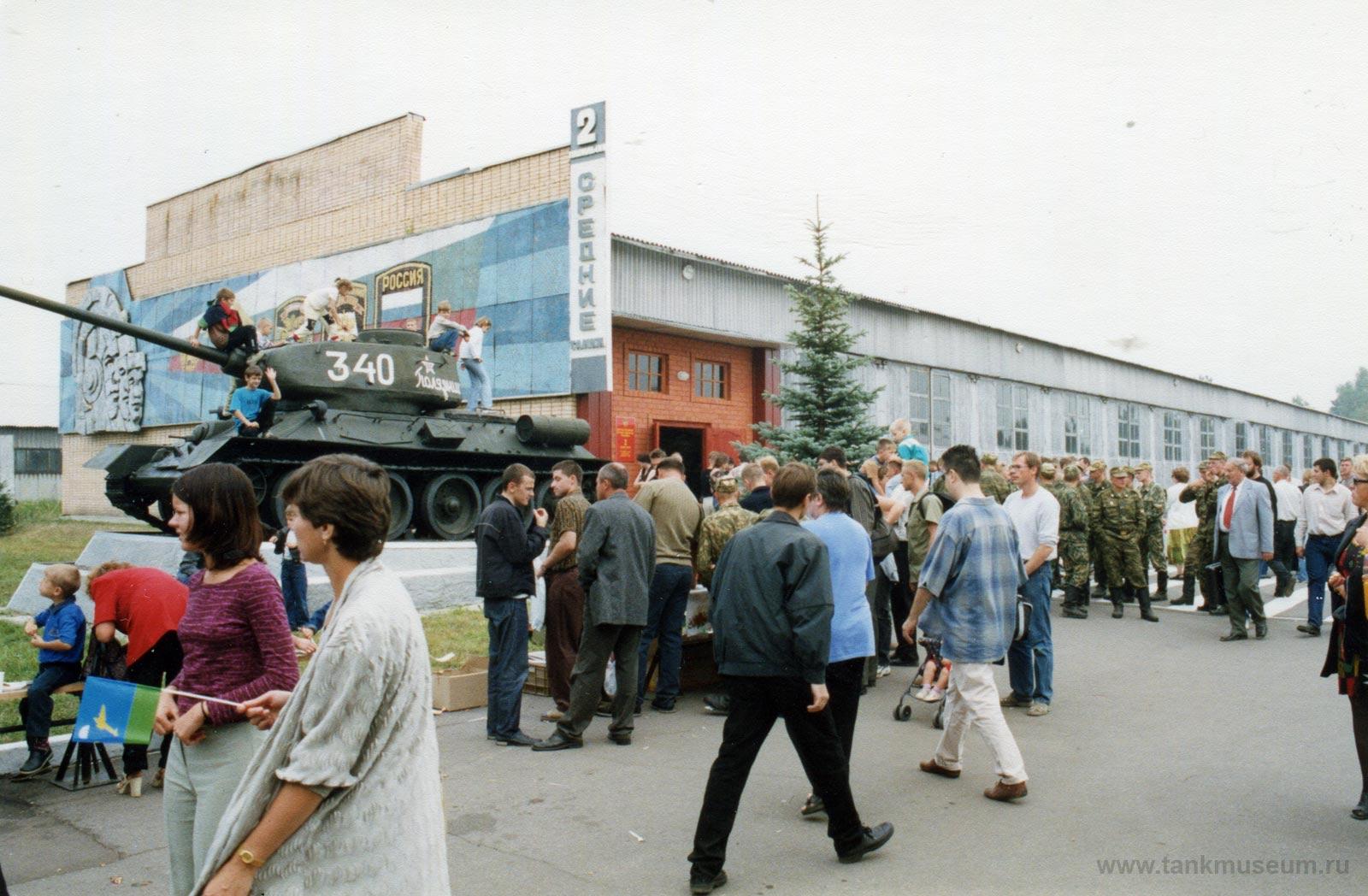 день танкиста танковый музей Кубинка
