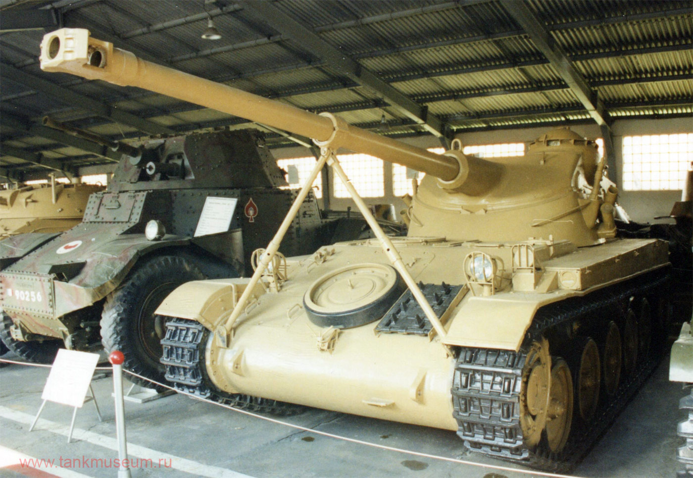 французский легкий танк АМХ-13 (B)