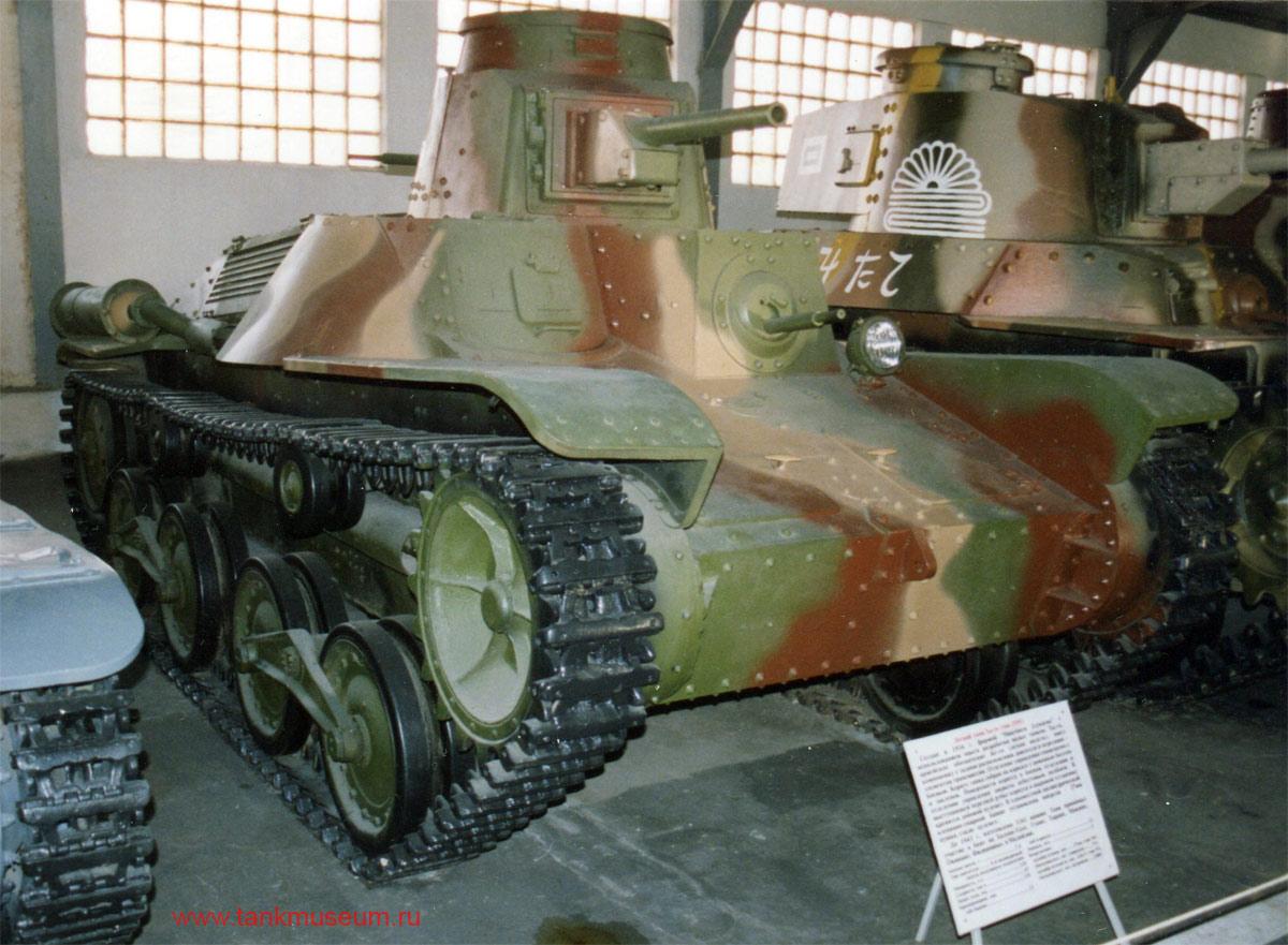 Японский легкий танк Ха-го тип 2595