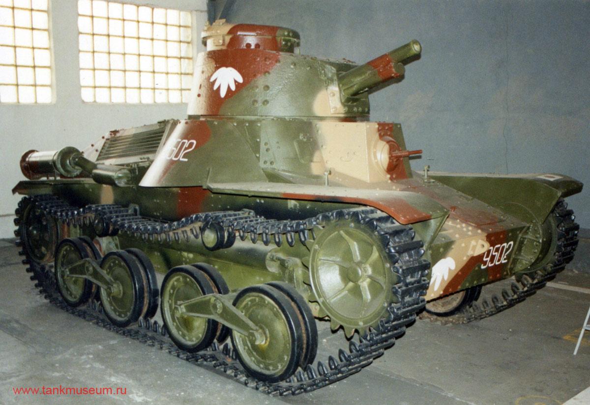 японский легкий танк Ке-ри