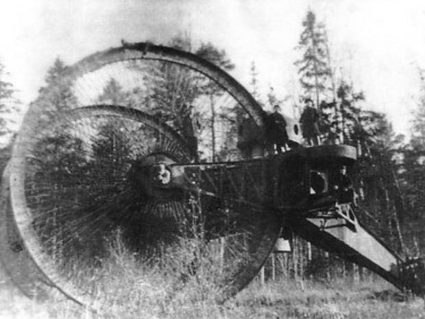 Первые русские танки, проект