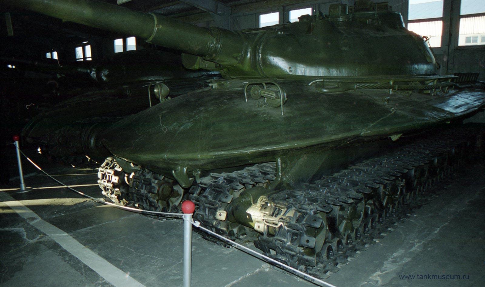 Объект 279, 4-х гусеничный танк, танковый музей Кубинка