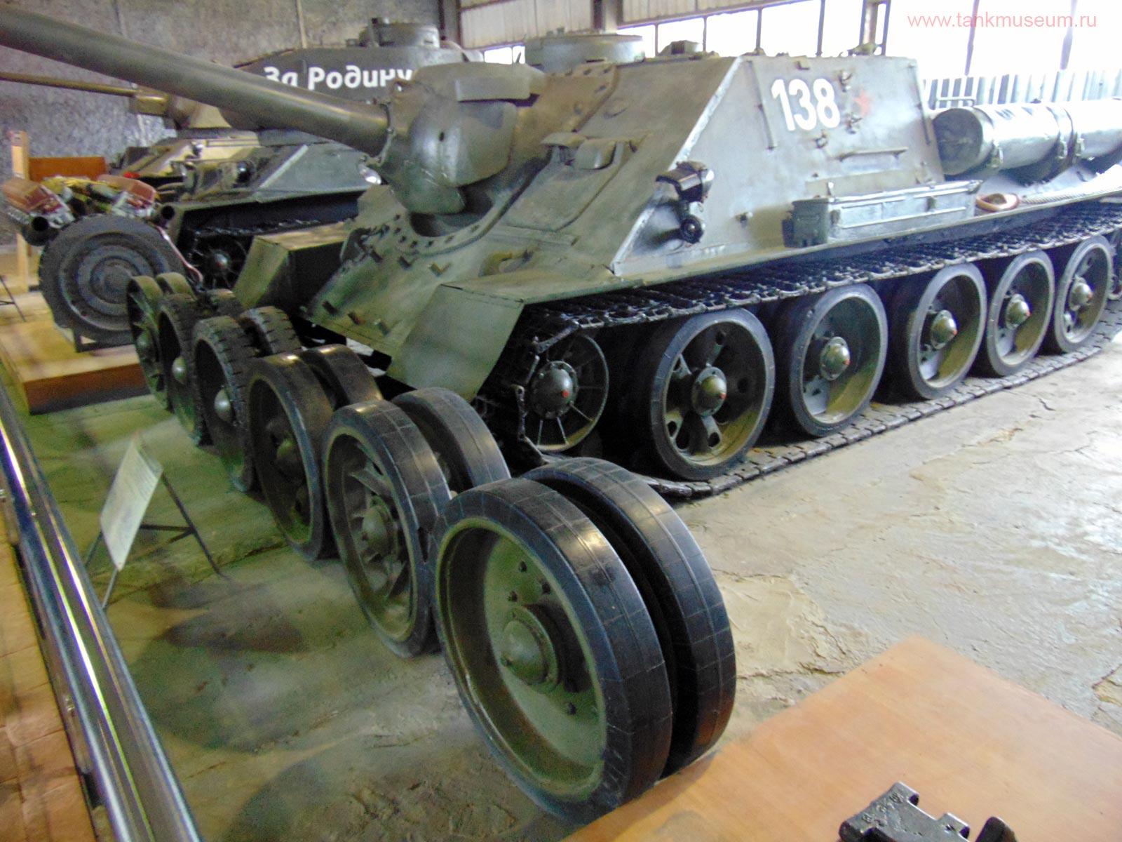 колеса танка Т-34, танковый музей Кубинка