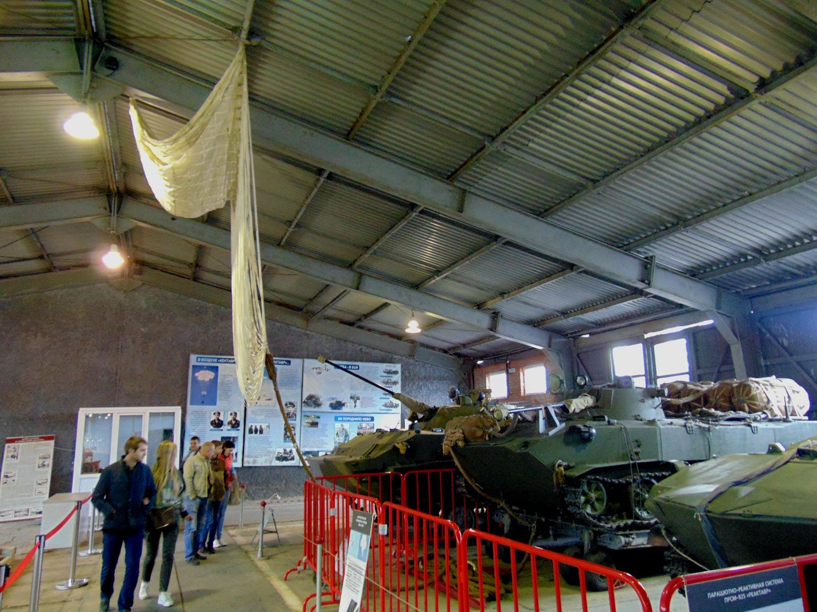 бронетехника ВДВ десантных войск