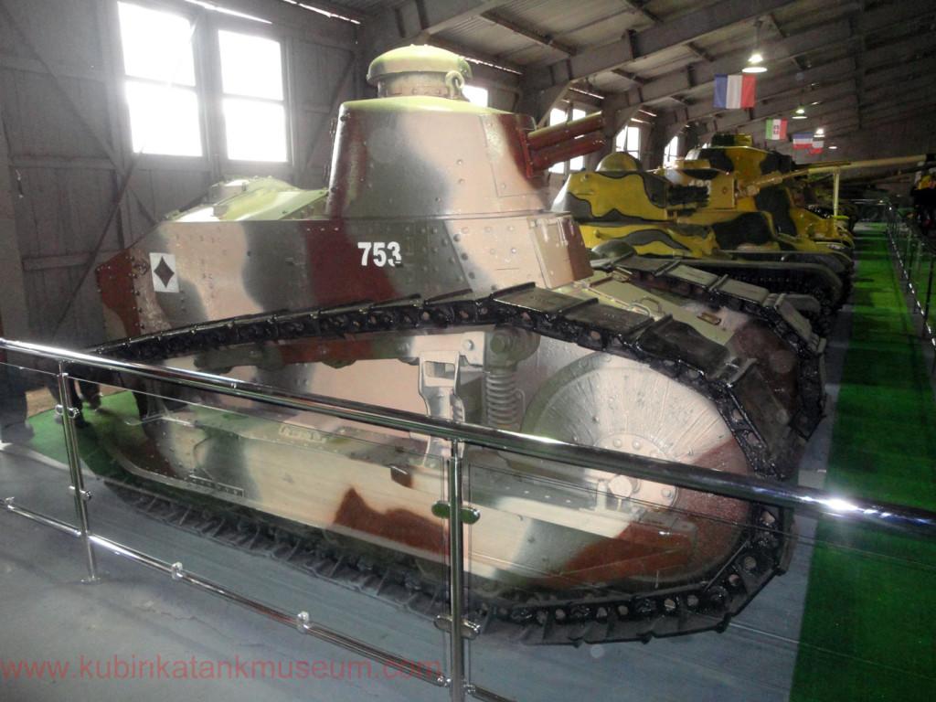 французский танк Reault FT-17