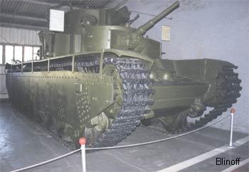 советский тяжелый танк Т35