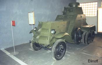 Броневик (бронеавтомобиль) БА-27 M (1930)