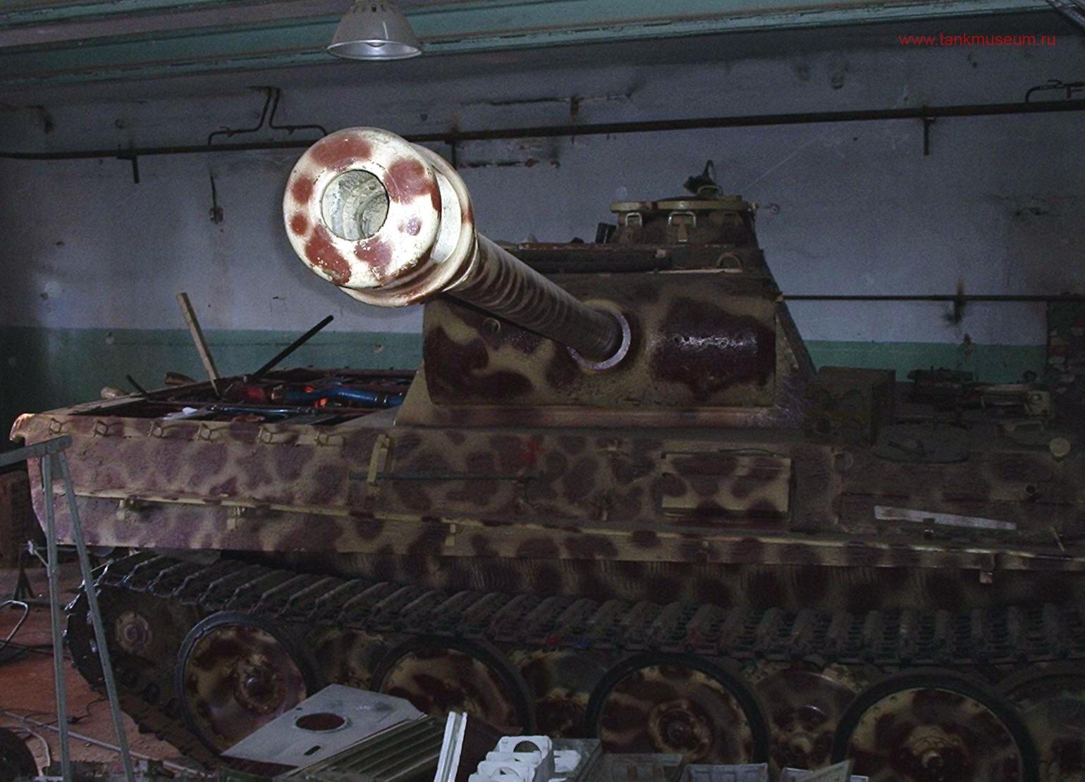 танковый музей в Кубинке ремонт техники