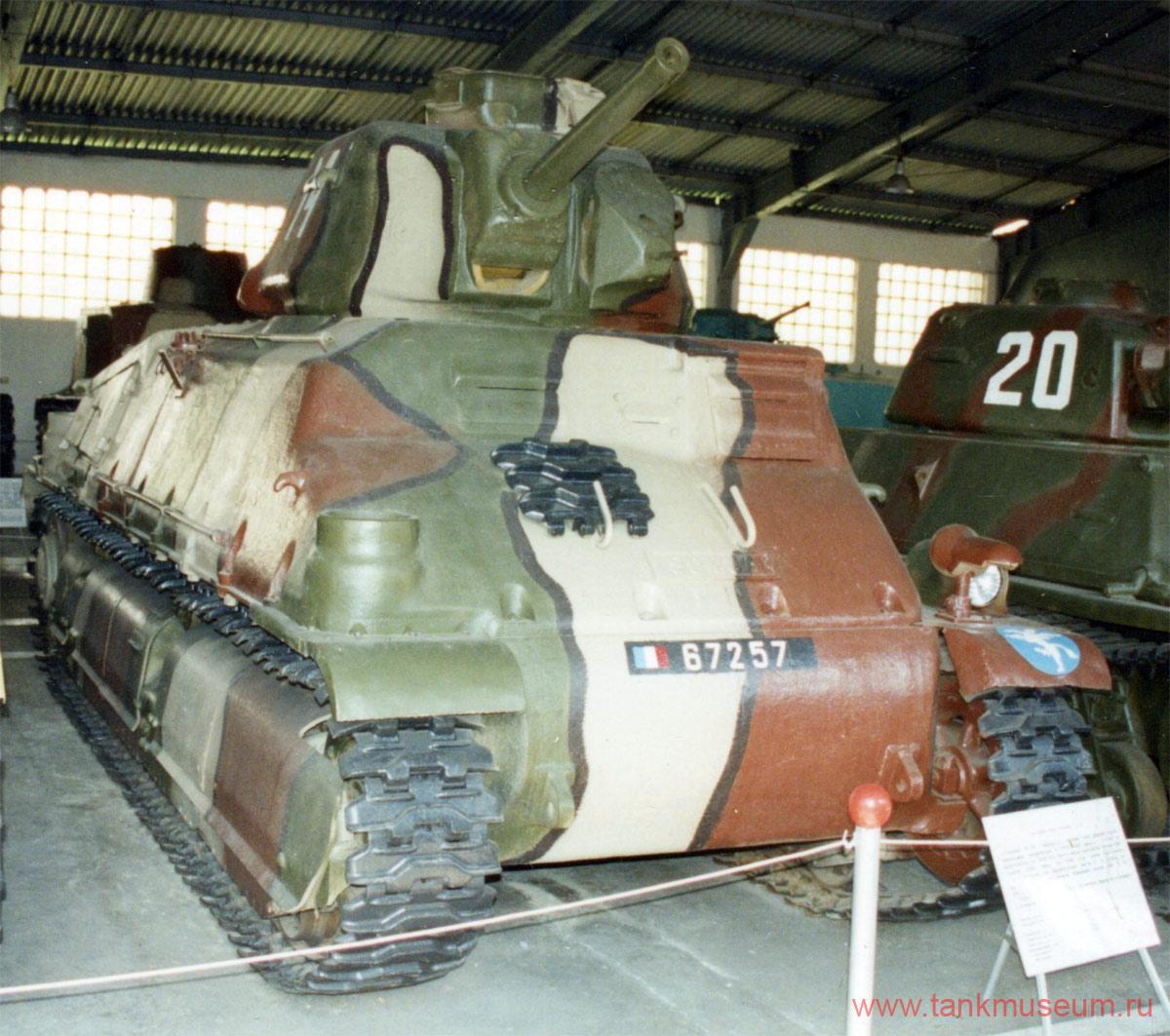 французский средний танк Сомуа S-35