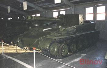 Тяжелая самоходная установка СУ-152П, объект N116 (N25)