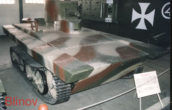 Английский плавающий танк «Виккерс-Карден Лойд»