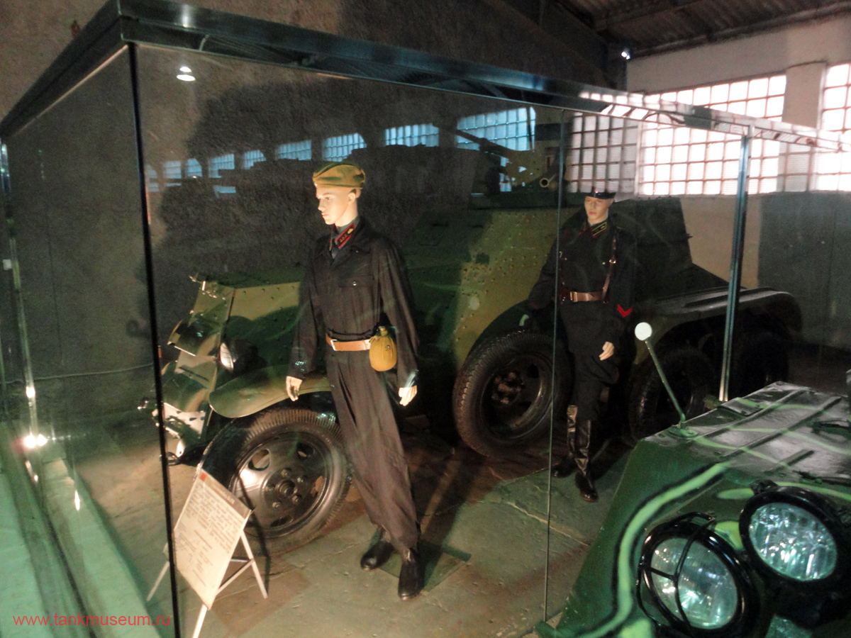 униформа танкистов и бронечастей периода Великой Отечественной войны