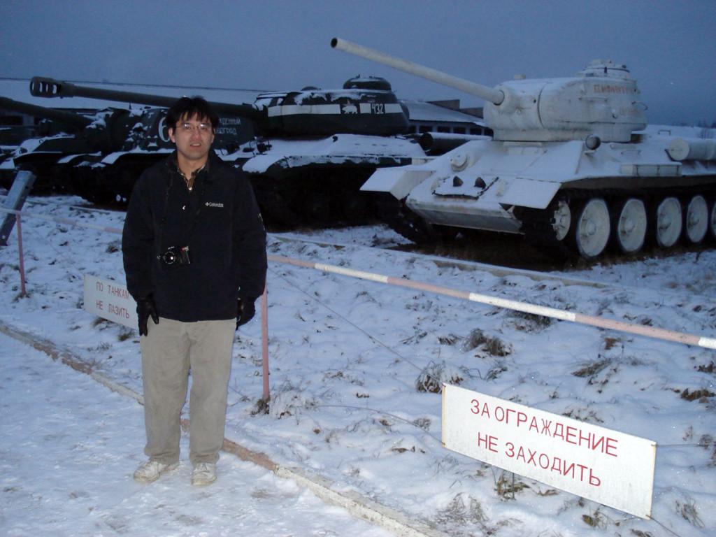 экскурсии в танковый музей зимой