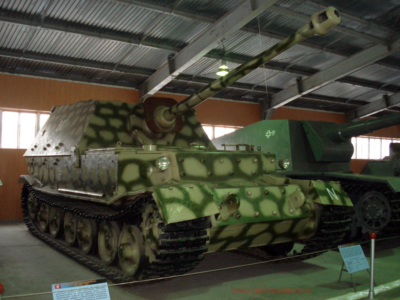 """Немецкая тяжелая самоходная установка СУ-88 """"Фердинанд"""""""