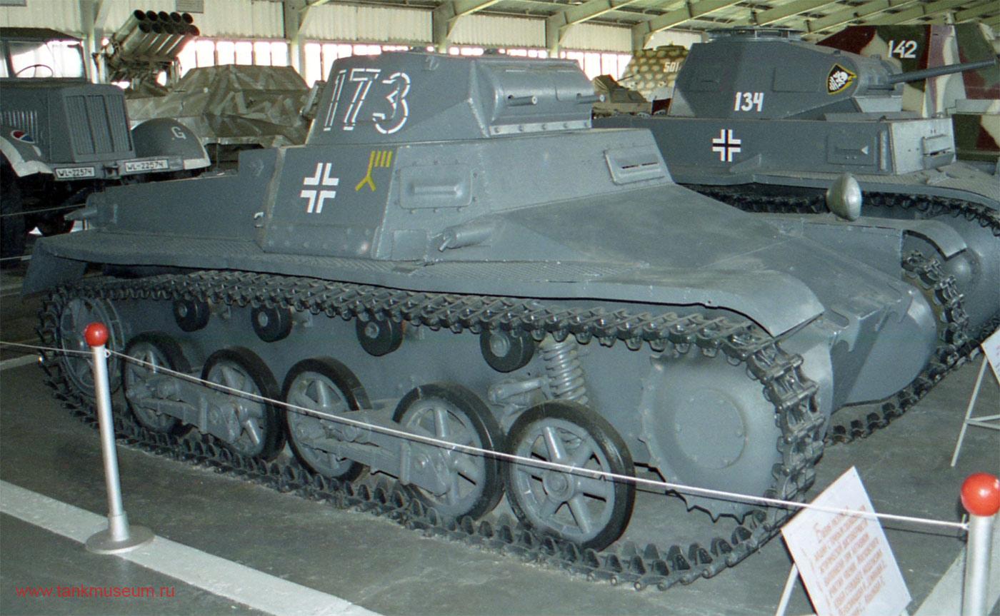Немецкий легкий танк Т-I