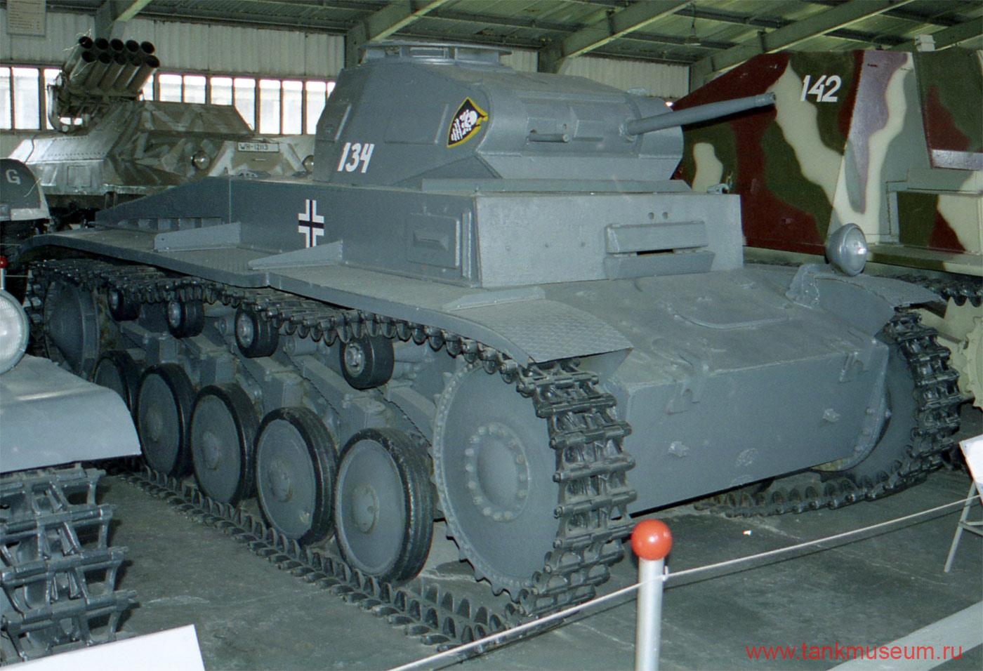 Немецкий легкий танк Т-II, Kubinka
