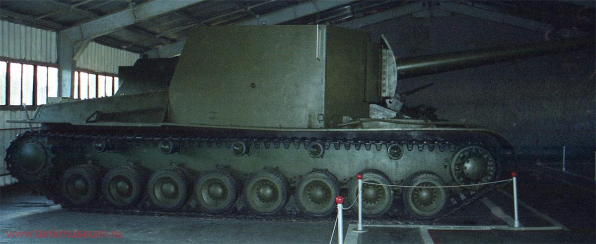 Советская тяжелая самоходная установка СУ-100У