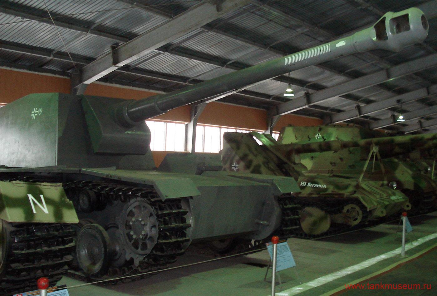 Немецкая средняя самоходная установка СУ-128