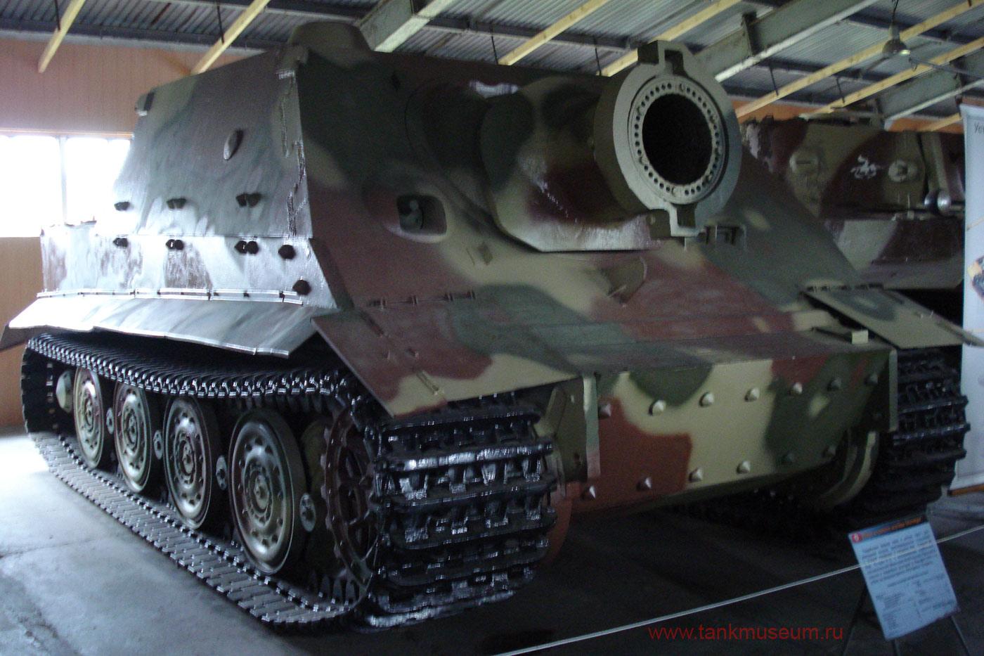 "Немецкая тяжелая самоходная установка СУ-380 ""Штурмтигр"""