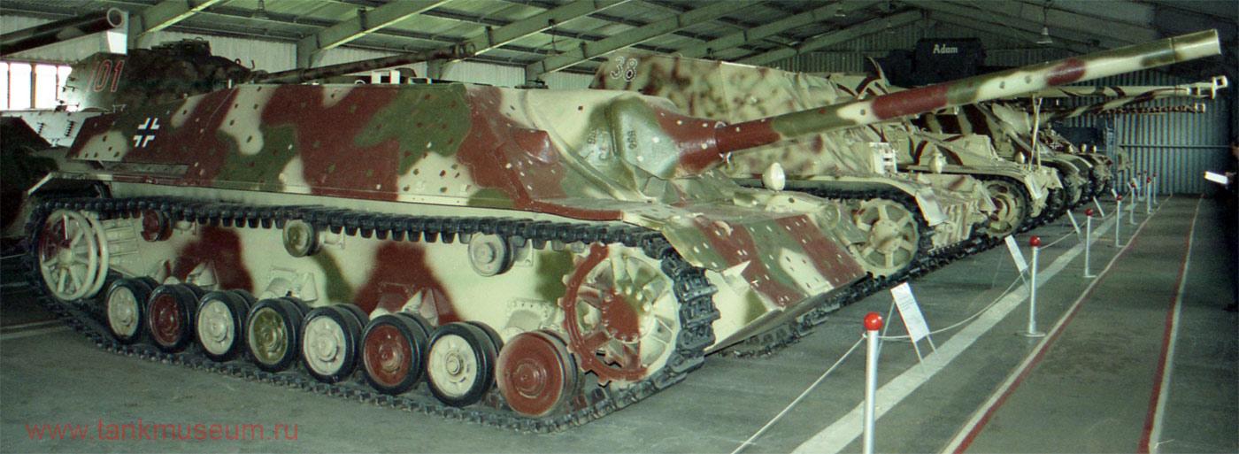 Немецкая самоходная установка СУ-75 на базе T-IV