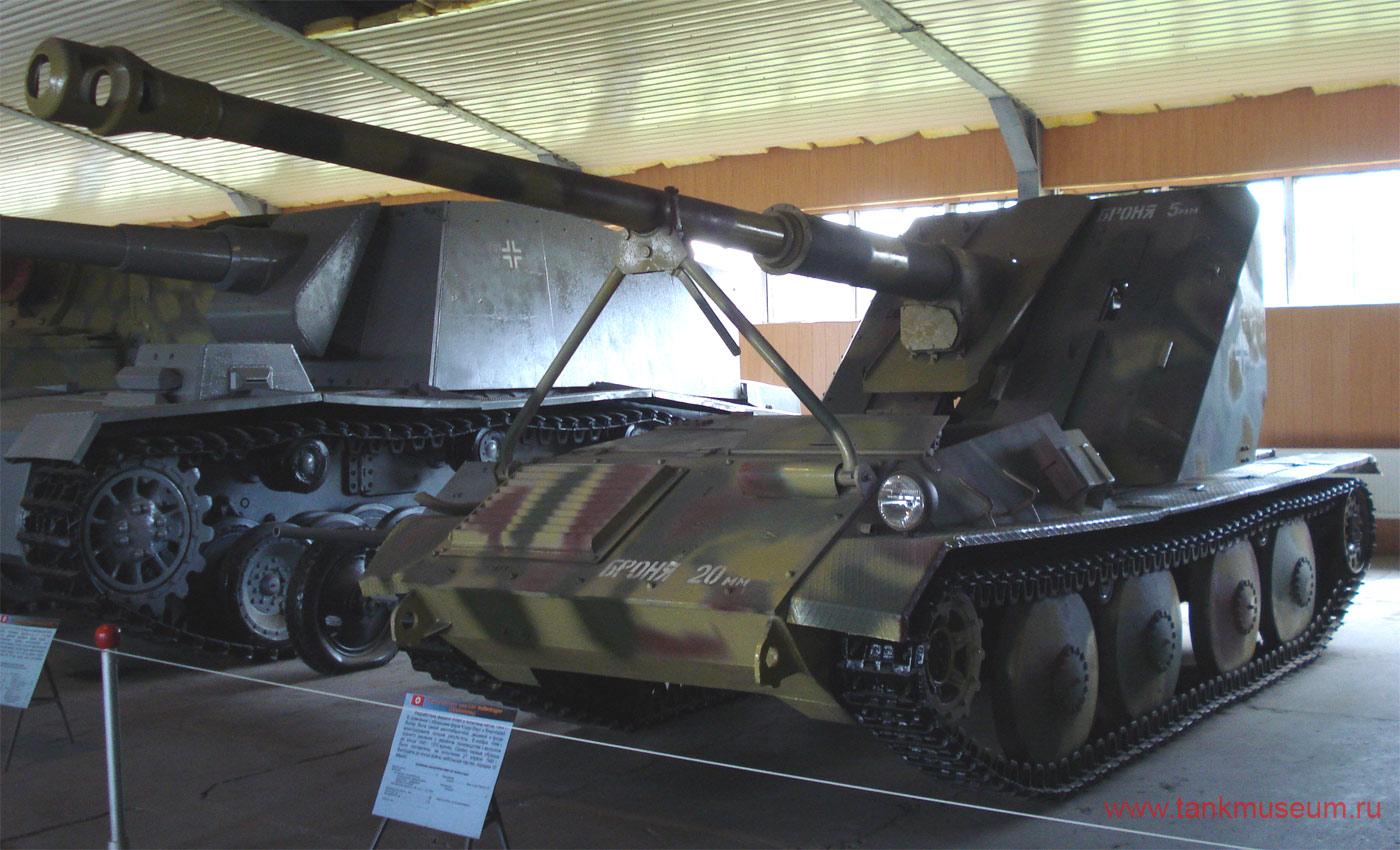Легкая самоходная установка СУ-88 на базе LT38