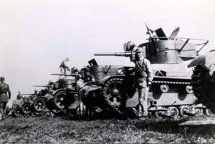 танки из Москвы в Китай