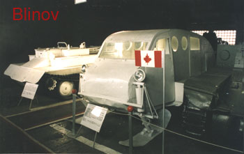 Canadian snow half-tracked vehicle B-2