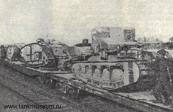 world war 1 british tanks