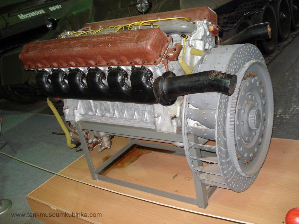WWII soviet tank engine V-2