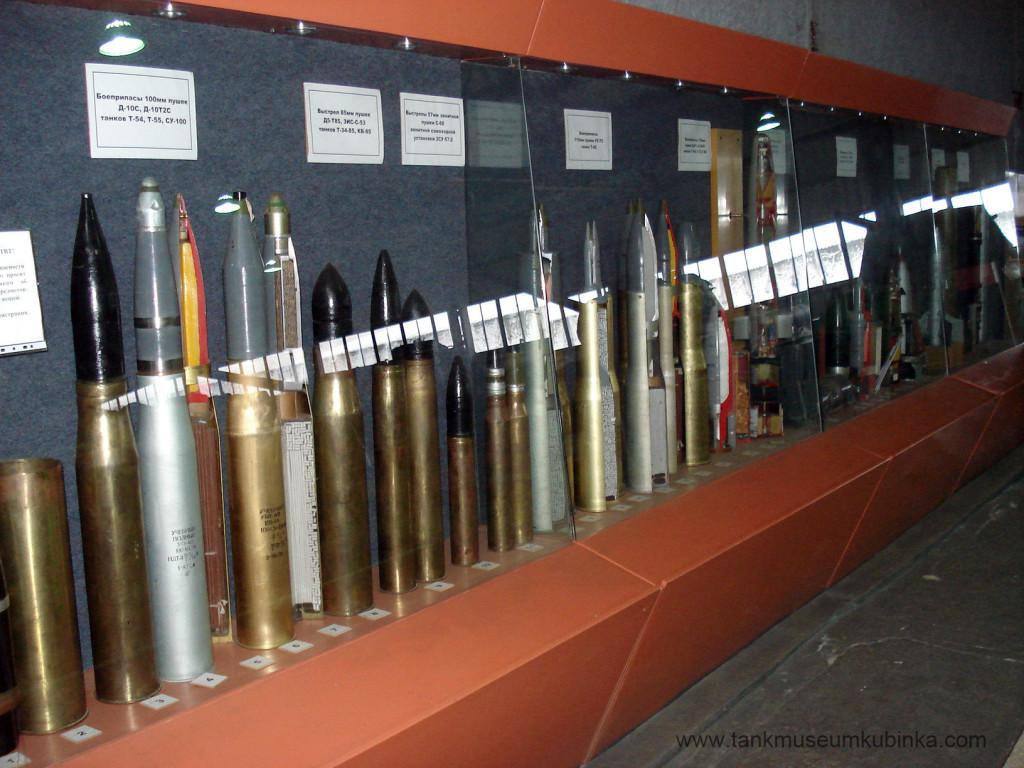 Soviet – Russian middle tank ammunition: sheells, rounds