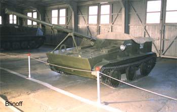 K-73 (M1949 experimental) paratrooper vehicle
