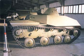 "T-40 M1939 soviet ""SMERCH-NKVD"" tank-amphibious, (WWII early)"