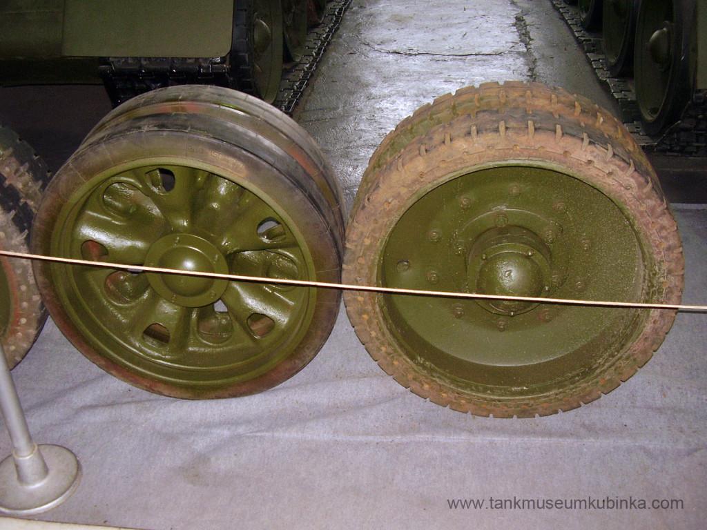 T-34 tank wheels