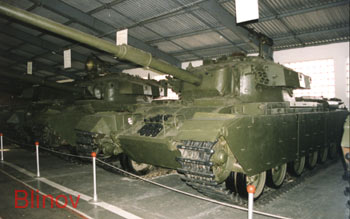 British middle tank Mk10 FV4017 M1960 (N13)