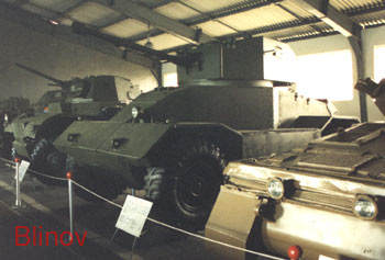 British World War Two armored car AES Mk II M1942 (N18)