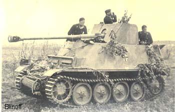 Soviet trophies german tanks