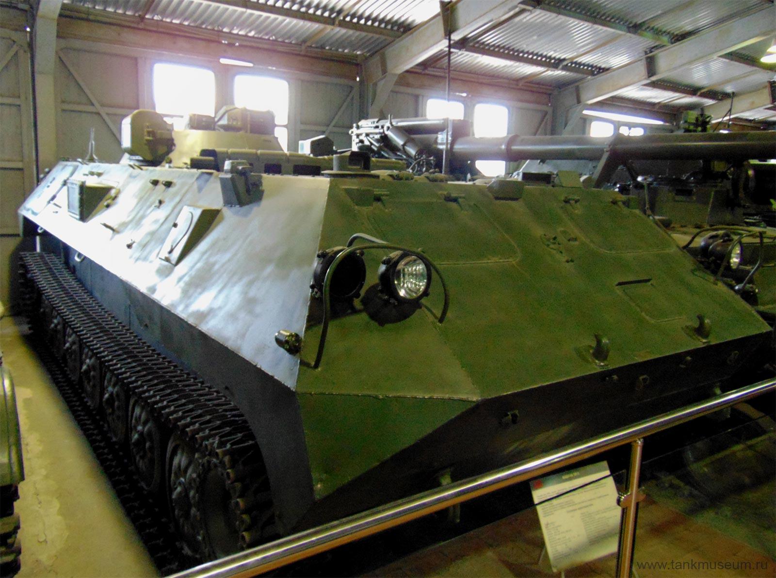 командно-наблюдательный пункт 1В15, танковый музей Кубинка