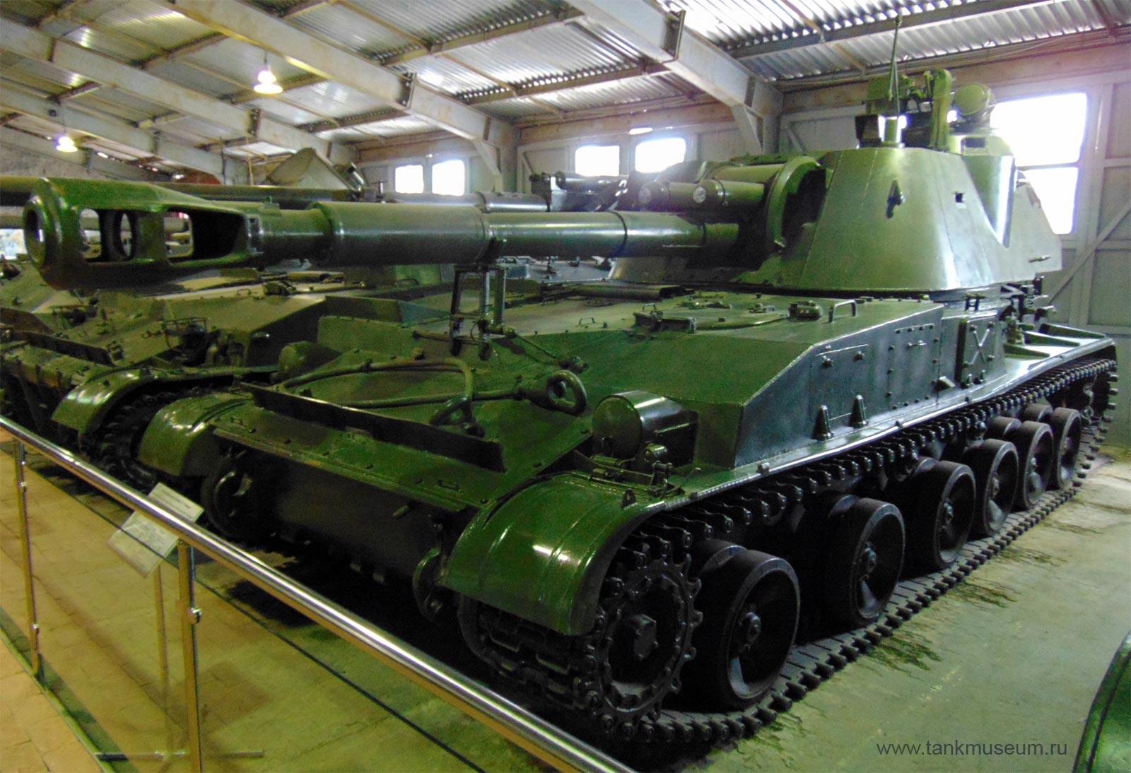 """Самоходная установка 2-С3 """"Акация"""", танковый музей Кубинка"""