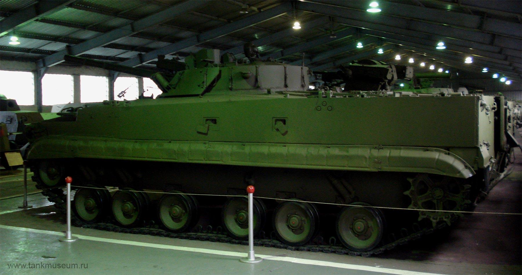 Боевая машина пехоты БМП-3 , танковый музей в Кубинке