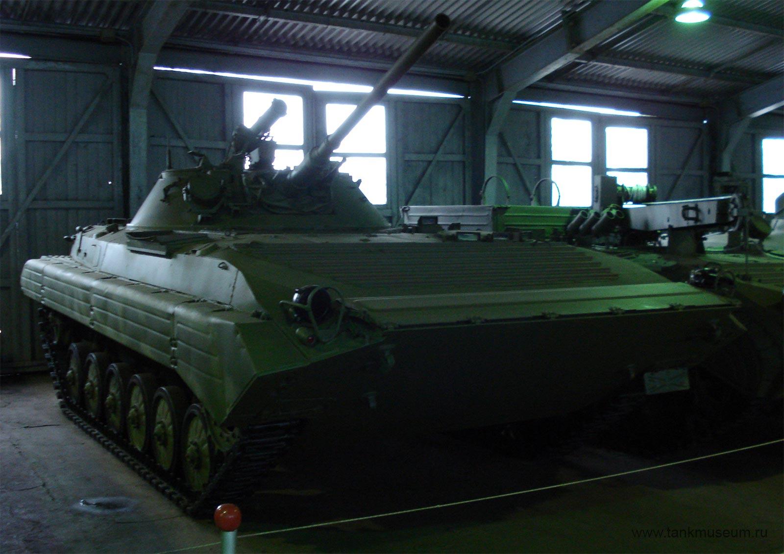 Боевая машина пехоты Объект 681, танковый музей в Кубинке
