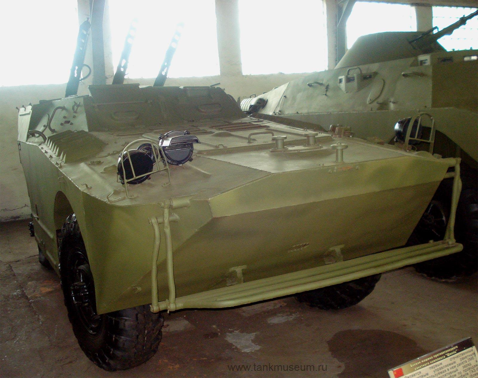 """Боевая машина противотанкового ракетного комплекса """"ШМЕЛЬ"""" на БРДМ-1"""