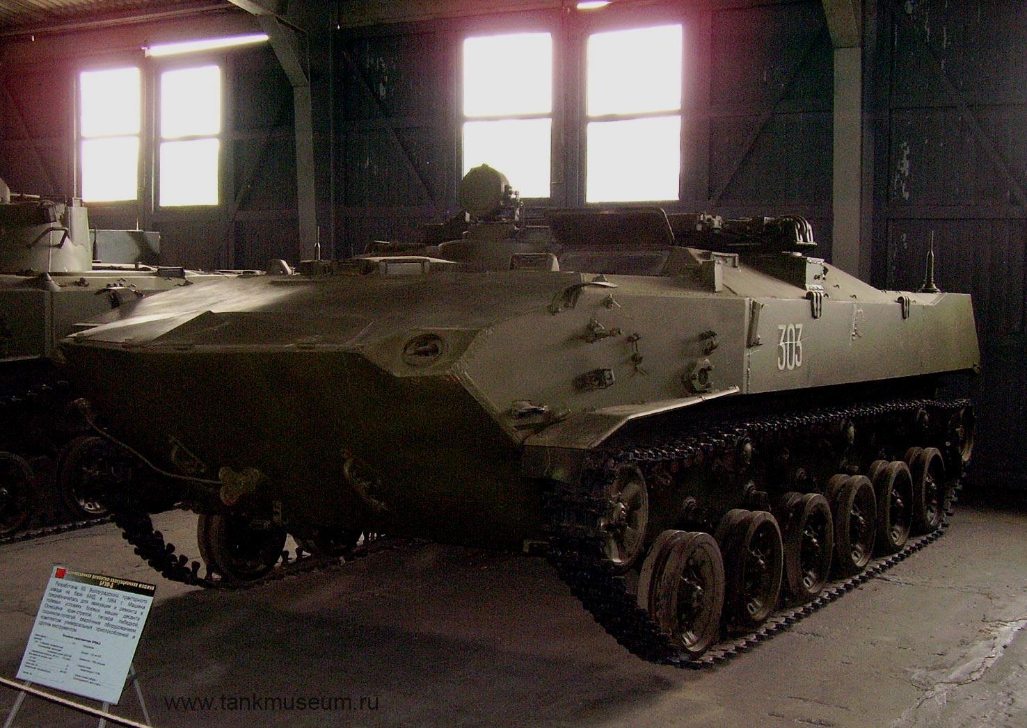 Бронированная ремонтно-эвакуационная машина БРЭМ-Д (ВДВ СССР