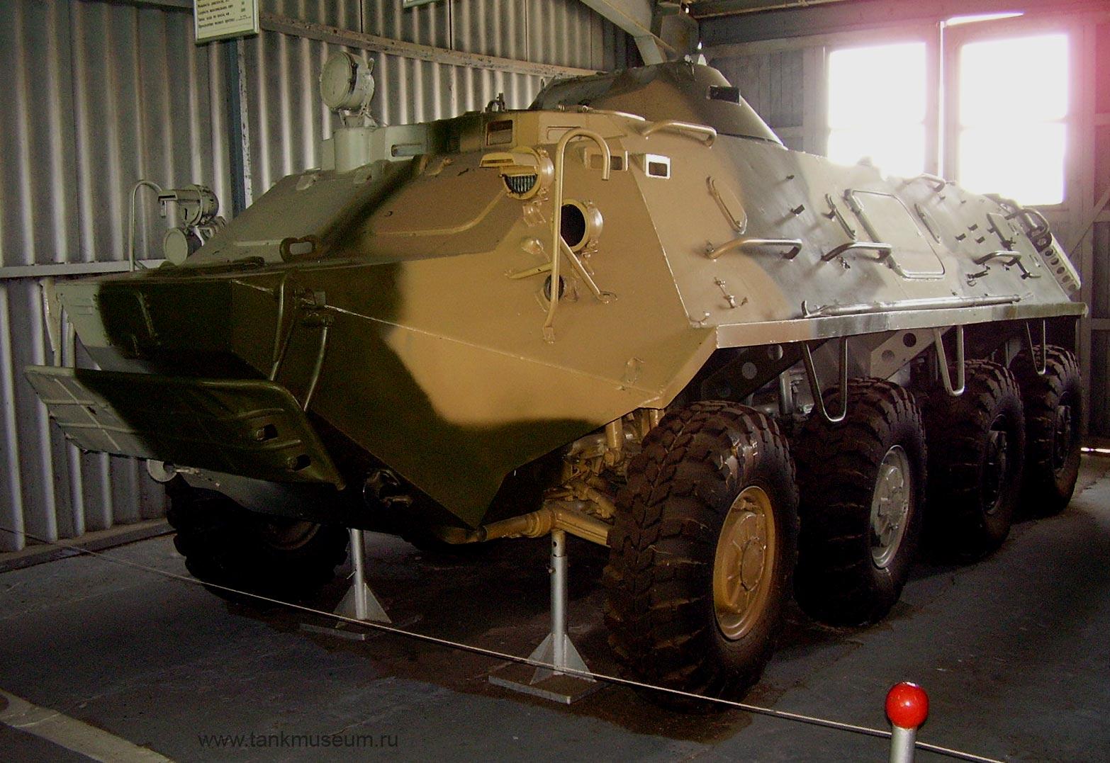 Бронетранспортер 60ПЗ, танковый музей в Кубинке
