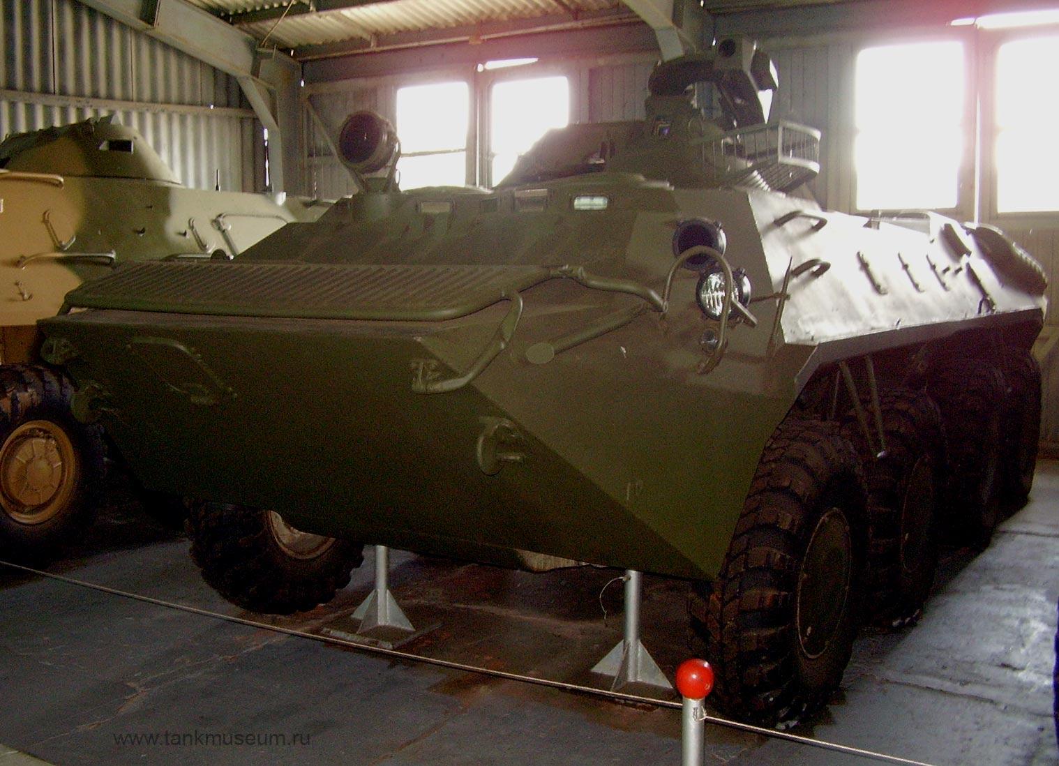 Бронетранспортер БТР-70, танковый музей в Кубинке