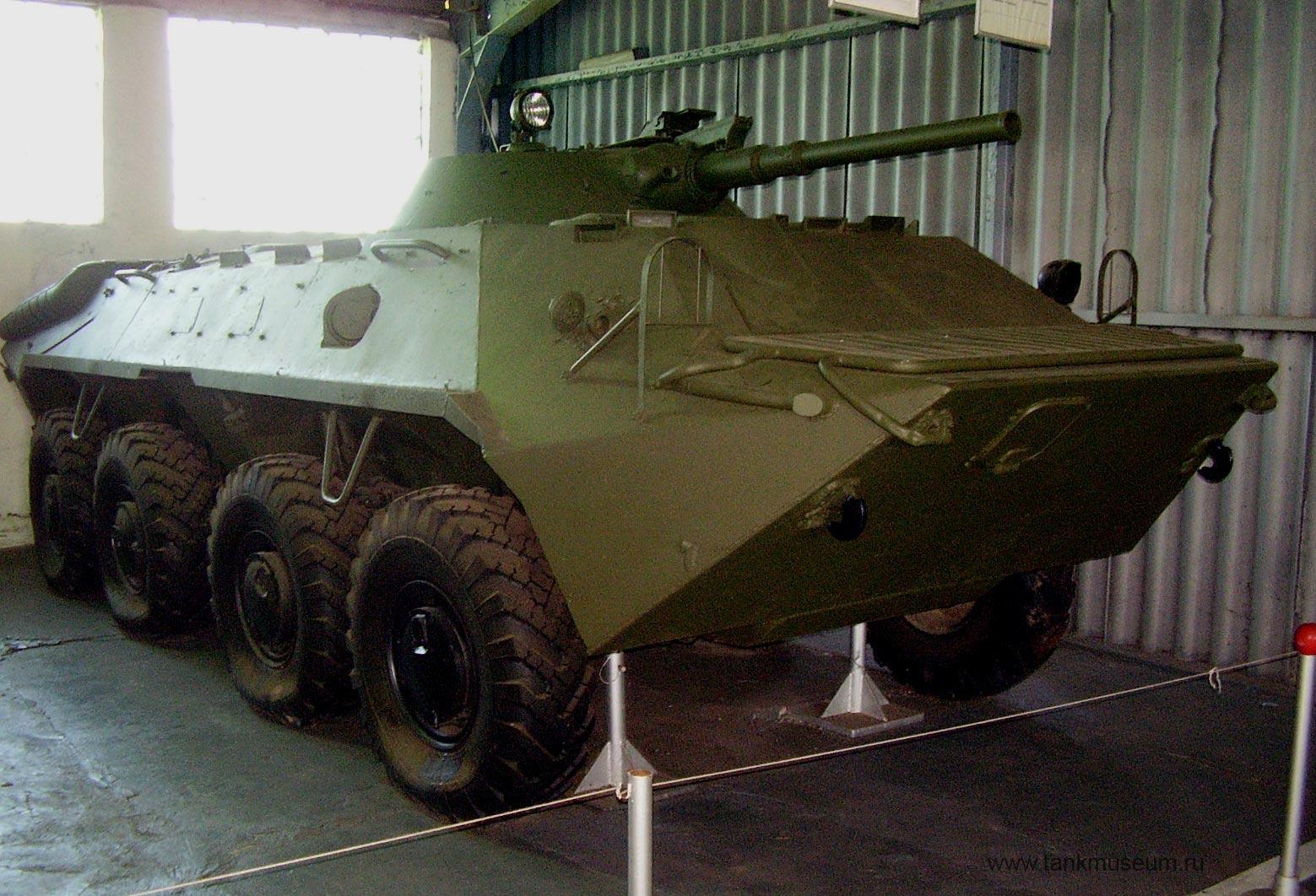 боевая машина пехоты ГАЗ-50, танковый музей в Кубинке