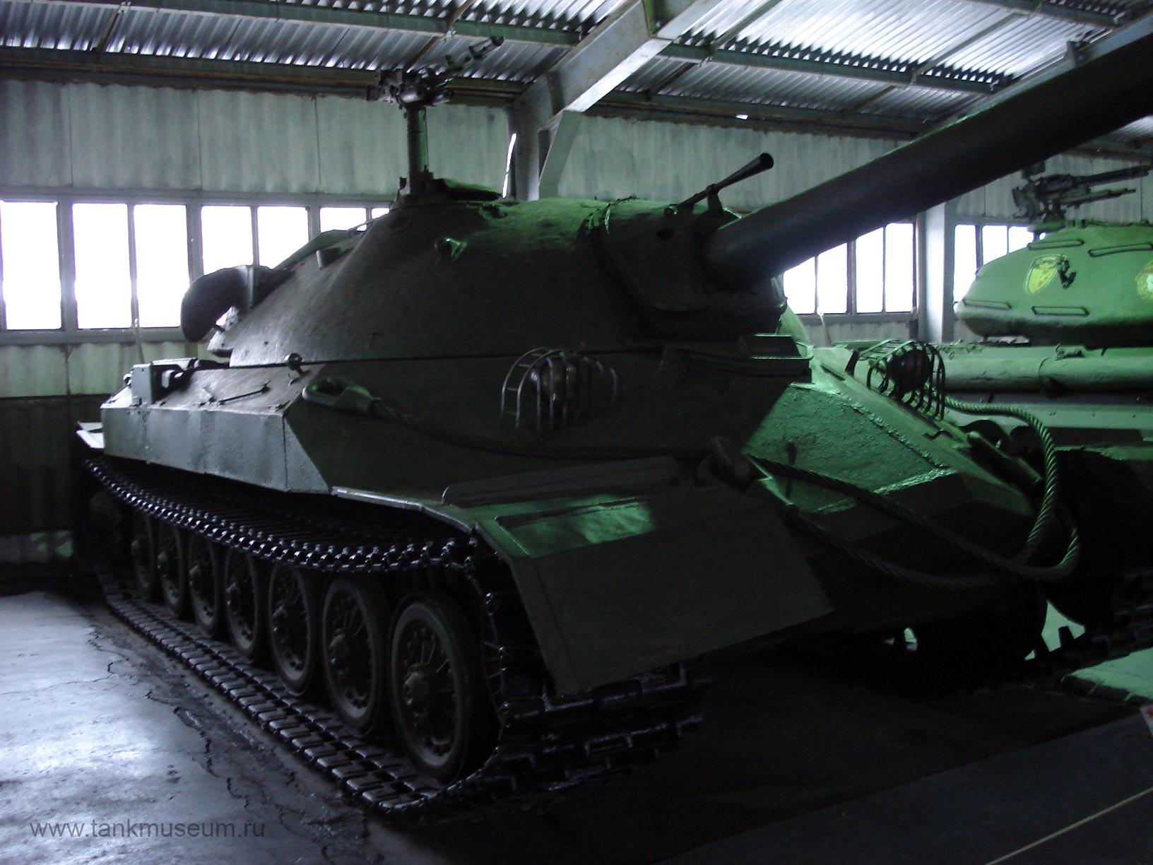 советский тяжелый танк ИС-7, танковый музей Кубинка