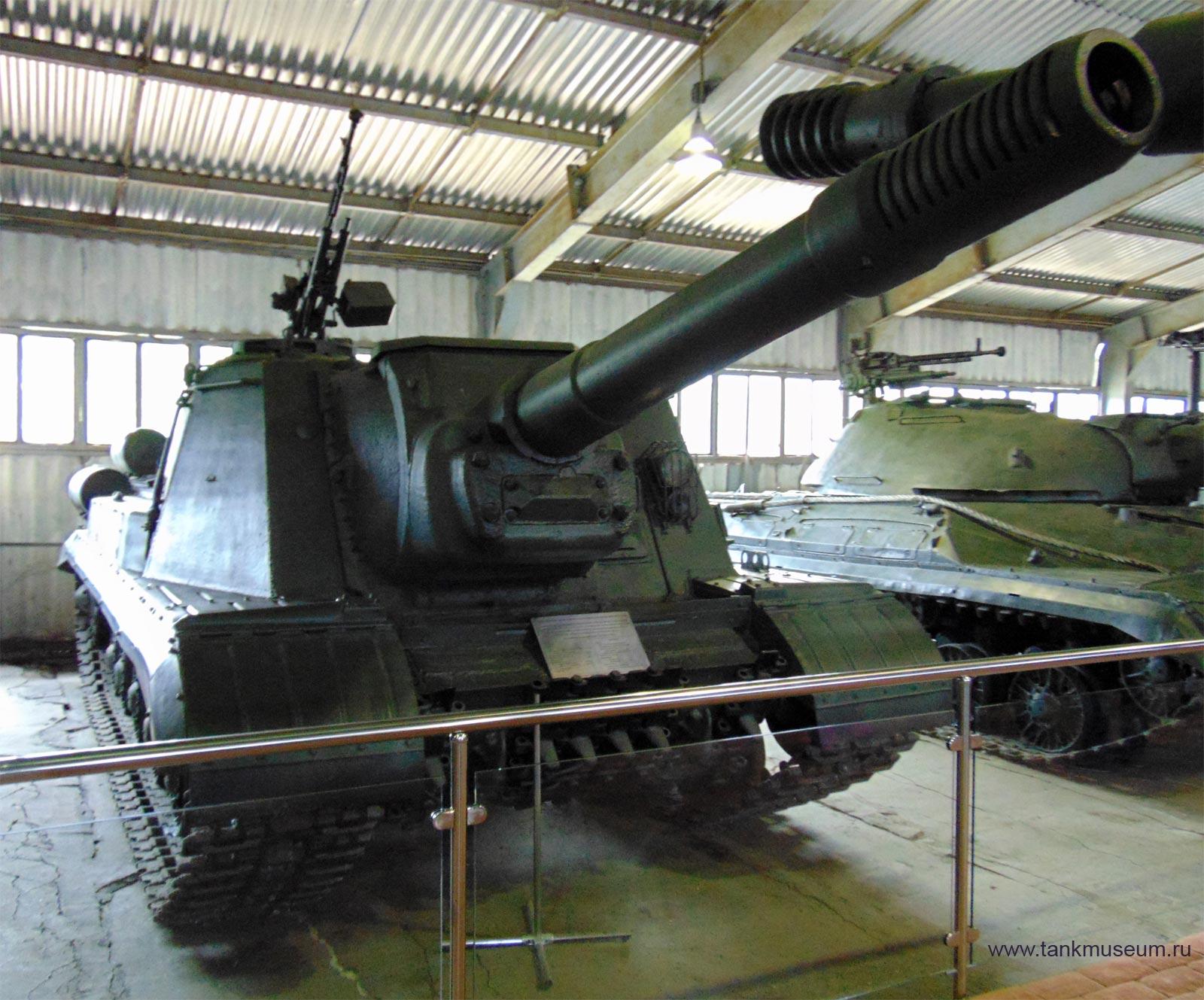 Самоходная установка ИСУ-152К танковый музей Кубинка