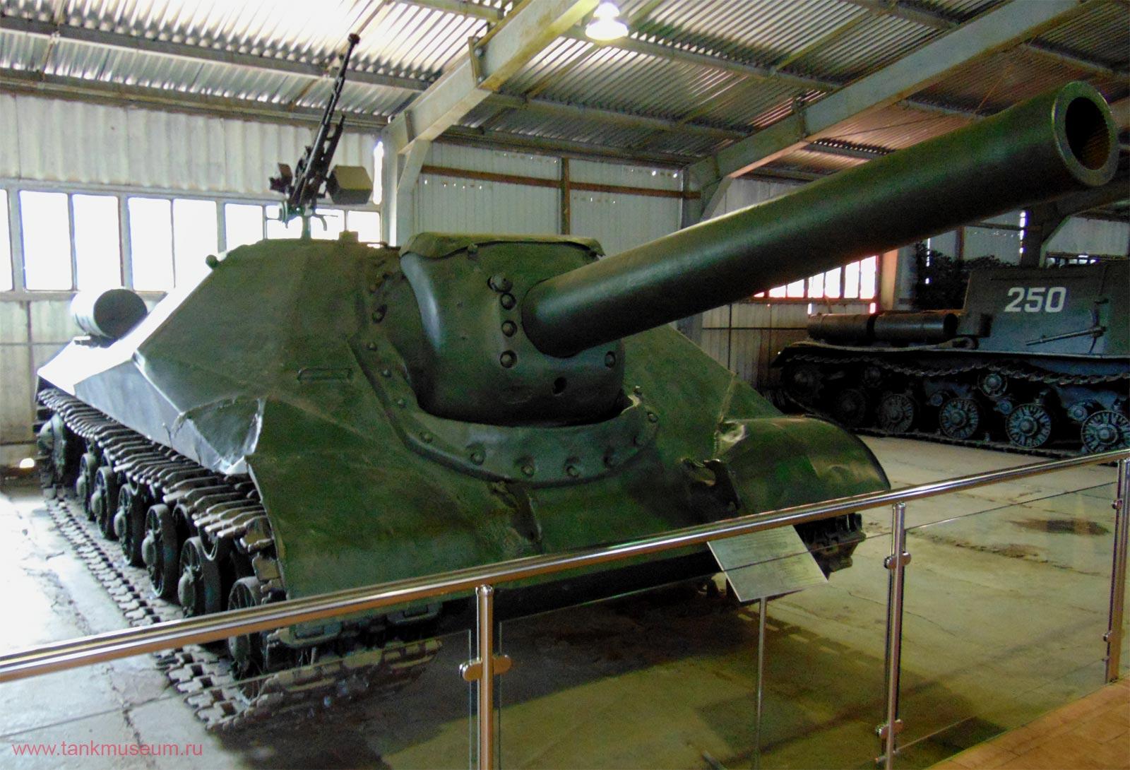 Экспериментальная самоходная установка ИСУ-152 объект 704 М1945