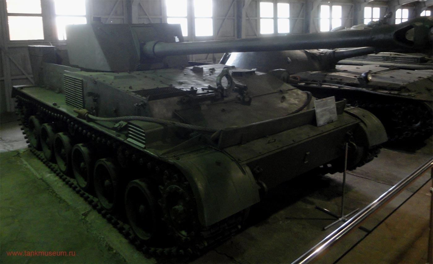 Экспериментальная самоходная установка СУ-100П танковый музей Кубинка