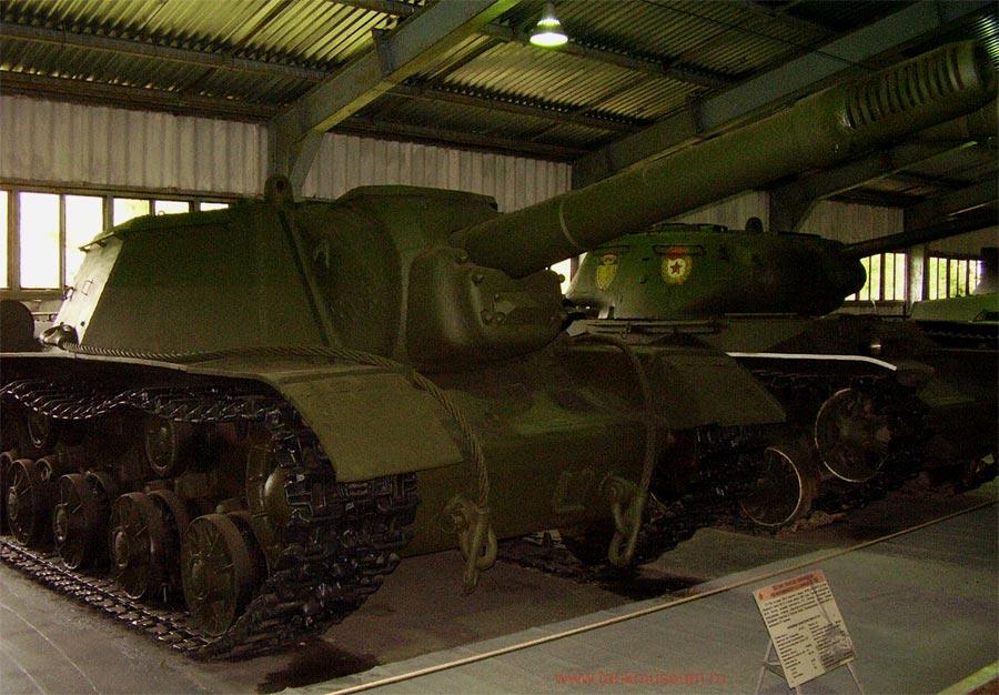 советская самоходная установка СУ-152 Зверобой танковый музей Кубинка